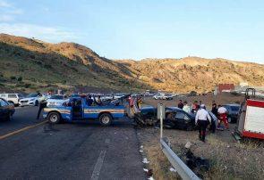 ۴ کشته و مصدوم در تصادف جاده سرچم ـ اردبیل