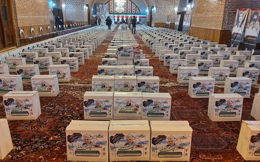 آغاز توزیع ۵ هزار بسته معیشتی در آذربایجان شرقی