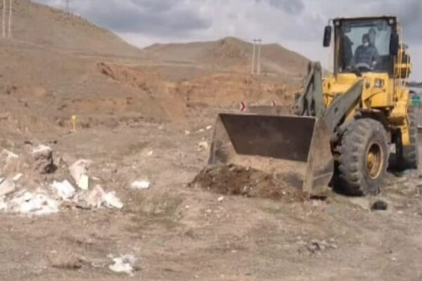 طرح پاکسازی نخالههای ساختمانی پیرامون شهر تبریز اجرا میشود