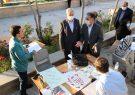 خوشنویسی کتابت «مقاومت» در تبریز